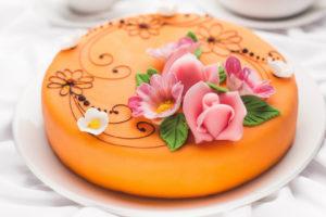 Marzipan-curd cheesecake 1,8 kg | Cafe Boulevard in Tallinn