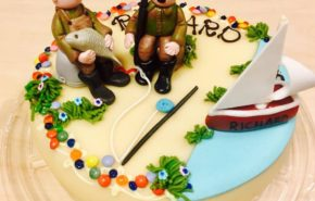 Kalamehed | Erikaunistusega tort | Cafe Boulevard