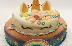Unicorn cake | Fantasy cakes | Café Boulevard in Tallinn