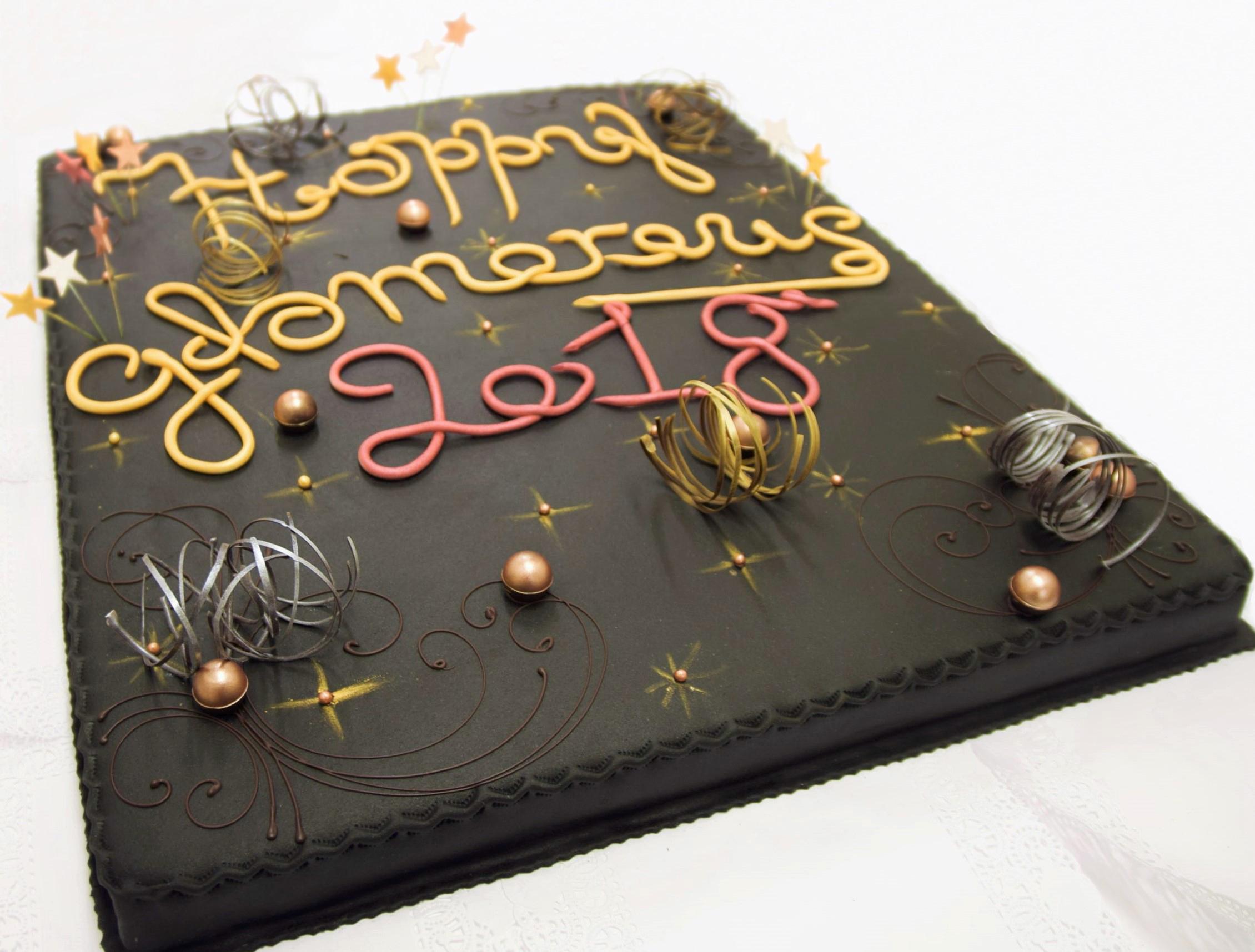 Aastavahetuse tort | Erikaunistusega tordid | Cafe Boulevard