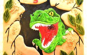 Dinosaurusega tort | Erikaunistusega tordid | Cafe Boulevard