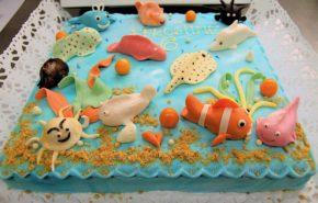 Merepõhi | Erikaunistusega tordid | Cafe Boulevard