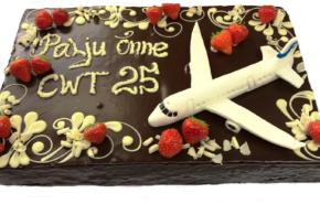 Lennukiga tort | Erikaunistusega tordid | Cafe Boulevard
