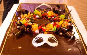 Specially decorated cake | Café Boulevard in Tallinn