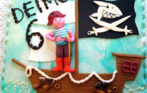 Piraadilaev | Erikaunistusega tordid | Café Boulevard