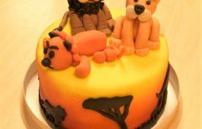 Lõvidega tort | Erikaunistusega tordid | Cafe Boulevard
