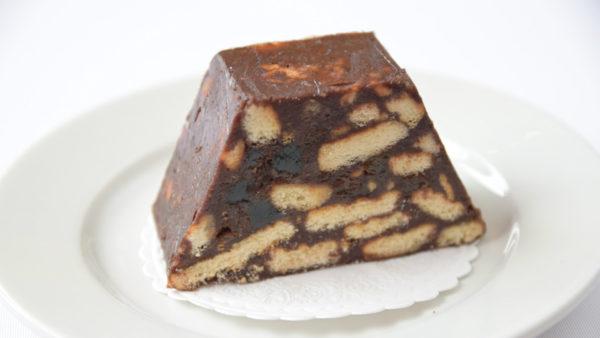Пирожное с шоколадом и мармеладом «Kirjukoer» | Café Boulevard в Таллинне