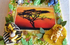 Serengeti tort | Erikaunistusega tordid | Cafe Boulevard
