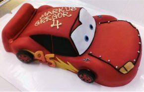 Auto tort | Erikujulised tordid | Café Boulevard